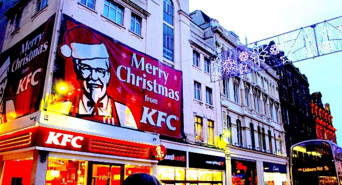 Japanese KFC Christmas tradition | The English Farm